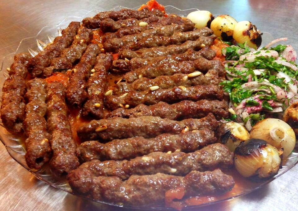 Plate of Kafta